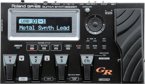 (Roland GR-55 Guitar Synth - Black - With GK-3 Pickup)