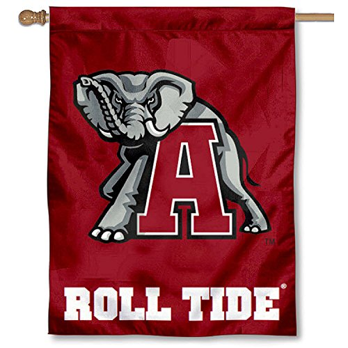 Alabama Throwback Mascot House Flag