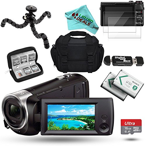 Sony HD Video Recording HDRCX440 Handycam Wide-Angle Camcord