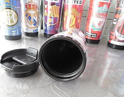 Chelsea Coffee Soccer Football Plastic No Spill Travel Tumbler Mug with Flip Lid 350ml