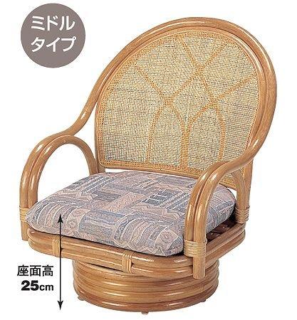 籐回転座椅子 B00120DRQ6 Parent