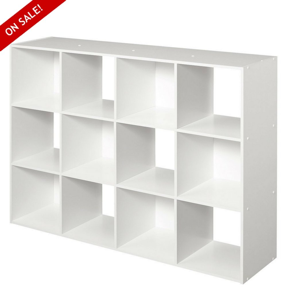 Cubeicals Cube Organizer Modern 12 Cubical Free Standing Sturdy Minimal Contemporary Simple Cubicle Shelving Unit Organizing Cube Floor Organizers Dining Room Storing And eBook By NAKSHOP