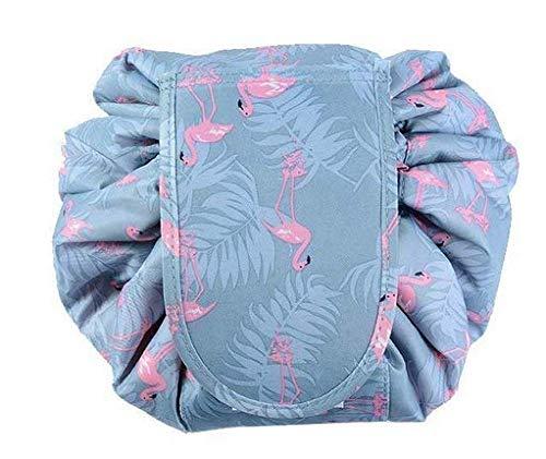 AYAN Make Up Bag,Flamingo Lazy Cosmetic Bag, Casual Waterproof Quick Pack Magic Makeup Storage Bag Portable Large Capacity Toiletry Bag Drawstring Make up Bag, Travel Storage Bag for Women Girls. …