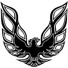Pontiac Firebird Trans Am Hood Bird Sticker Decal Vinyl Black,white, Red or Gold (MAT BLACK)