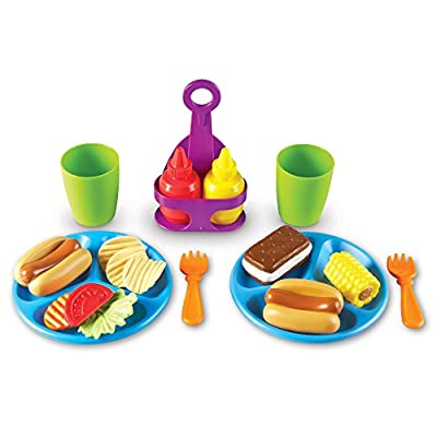 Learning Resources New Sprouts Cookout! Food, 19Piece: Toys & Games