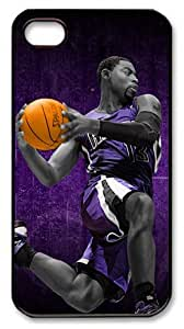 icasepersonalized Personalized Protective Case for iPhone 4/4S - NBA Sacramento Kings #13 Tyreke Evans