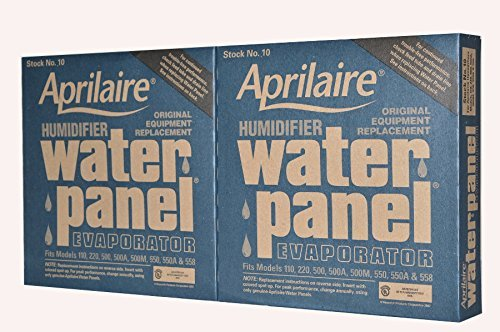 (Aprilaire Humidifier Part # 10 for Models 110, 220, 500, 550 and 558 Humidifiers Case of 2)