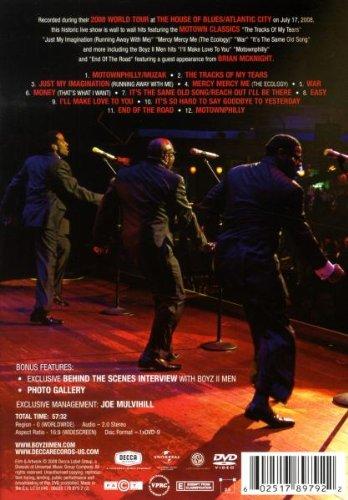 Boyz II Men - Motown A Journey Through Hitsville USA - LIVE [DVD] by Decca