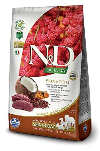 Farmina Natural & Delicious Quinoa Functional Skin & Coat Venison Adult Dog 15.4 lb