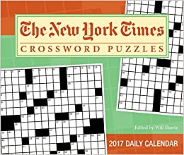 amazon the new york times crosswords 2017 day to day calendar