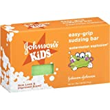 (2 Bars) Johnson's Kids Easy-grip Sudzing Bar Watermelon Explosion 2.46 Fl Oz