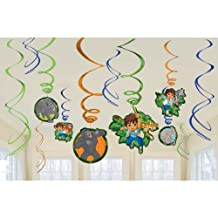 Diego Swirl Decorations by Amscan