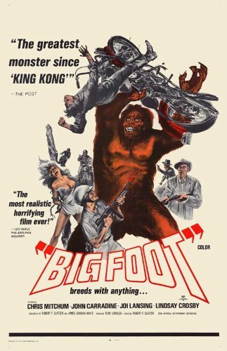 Bigfoot POSTER Movie (11 x 17 Inches - 28cm x 44cm) (1971)