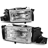 Dodge Ram BR/BE Pair of OEM Replacement Chrome Housing Clear Lens Headlight