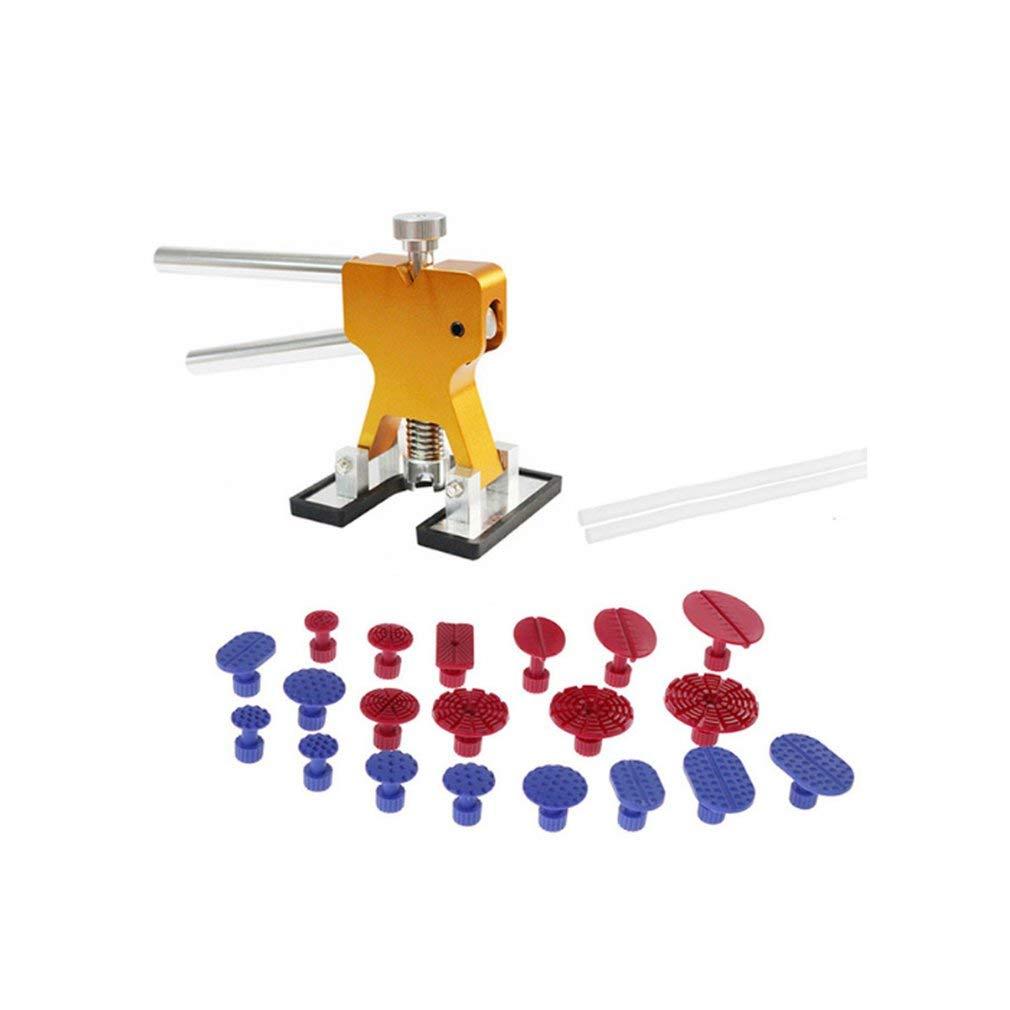 FDBF Car Dent Repair Repair Repair Tool Eliminación de la abolladura Dent Puller Tabs Dent Lifter PDR Tool Kit 07ca17
