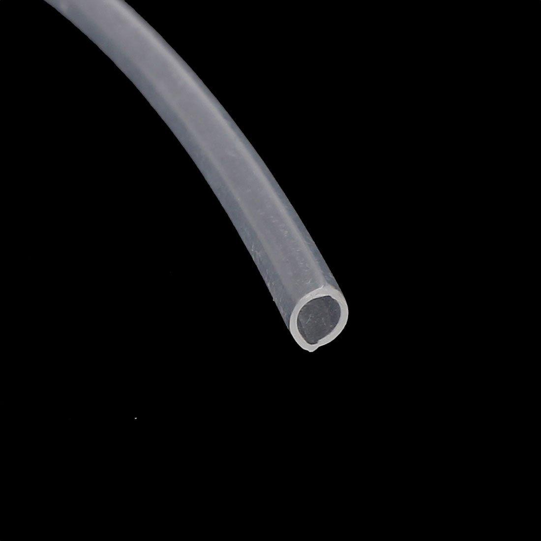 sourcing map 3mm x 4mm de PTFE Tubo transparente 1Metro de 3,3 pies para impresora 3D RepRap
