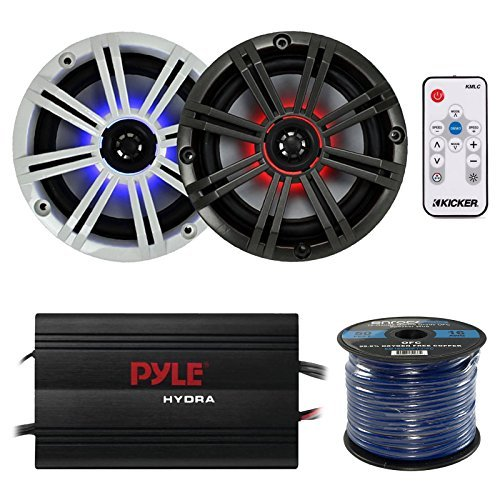 Pyle 8in Marine Subwoofer (Kicker 41KM84LCW 8
