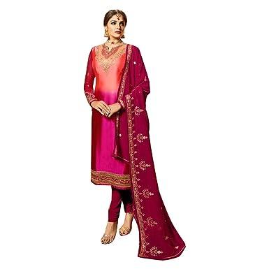 8540 Nuevo diseñador Kameez Kamiz Skirt Shalawar Salwar Suit Falda ...
