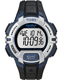 Timex Men's T5K791GP Ironman 30-Lap Rugged Blue and Black