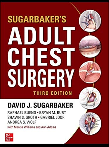 Sugarbaker's Adult Chest Surgery, 3rd edition - Original PDF