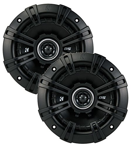 2 Kicker 43DSC504 D-Series 5.25'' 200W 2-Way 4-Ohm Car Audio Coaxial Speakers by KICKER