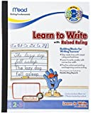 Mead See & Feel Learn To Write Tablet with Raised Ruling, Grades 2-3, 8 x 10 Inches (48556)