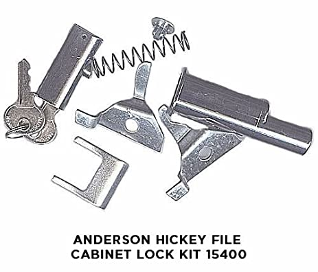 Anderson Hickey File Cabinet Lock Kit 15400 - Cabinet And ...