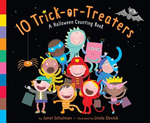 [ 10 Trick-Or-Treaters: A Halloween Counting Book ] BY Schulman, Janet ( Author ) ON Aug-11-2009 Hardcover