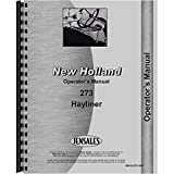 New Baler Operator's Manual Made To Fit New Holland 273 NH-O-273