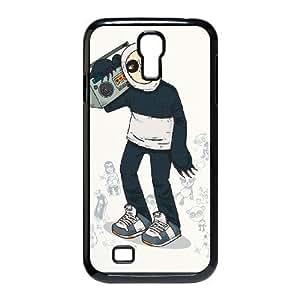 Zune Panda Samsung Galaxy S4 Cases, Tyquin - Black