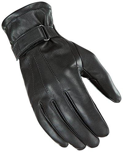 Power Trip Women's Jet Black Lined Gloves (MEDIUM) (BLACK) (Power Trip Jet)