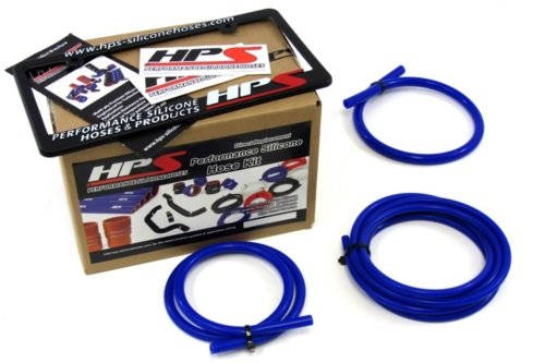 HPS Blue Silicone Vacuum Hose Kit for 99-01 Subaru Impreza 2.5RS CG8 EJ25 00