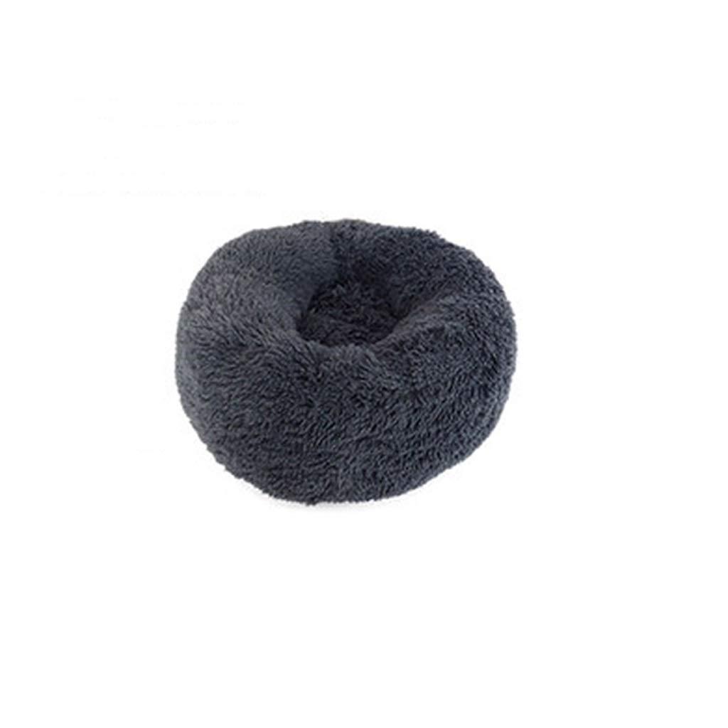 YQCSLS Cats And Small Medium Dogs Cuddler With Soft Cushion Round Or Oval. Warm Dog Sofa.Teddy Puppy Nest