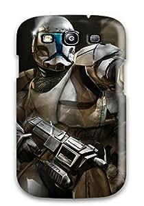 New Cute Funny Star Wars Republic Commando Case Cover/ Galaxy S3 Case Cover