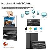 YEKBEE iPad Keyboard Case for New 2018 iPad, 2017