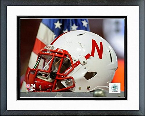 NCAA Nebraska Cornhuskers Football Helmet Photo (Size: 12.5