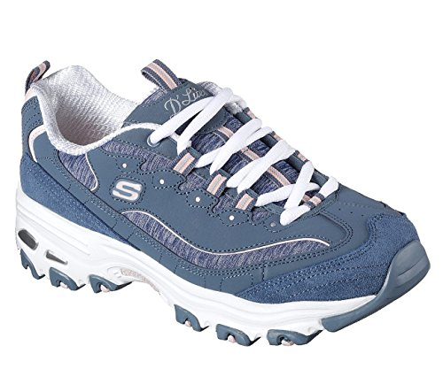 Skechers Kvinna Dlites-me Tid Sneaker Skiffer