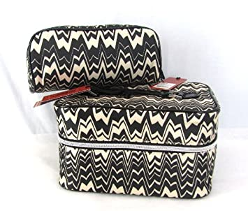 Image Unavailable. Image not available for. Color  Missoni for Target Blk  Wht Zig Zag Famiglia Train Case   Cosmetic ... 74bfd834919dd