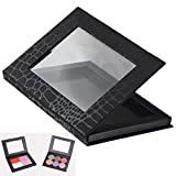 Frcolor Empty Magnetic Cosmetics Makeup Palette for Eyeshadow, Blush