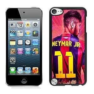 Lovely iPod Touch 5 Case Design with neymar fc barcelona in Black Kimberly Kurzendoerfer