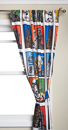 Cheapest Price! Star Wars Classic Microfiber Drapes 63