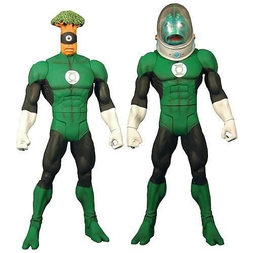 Green Lantern Classics Nautkeiloi and Medphyll Figure