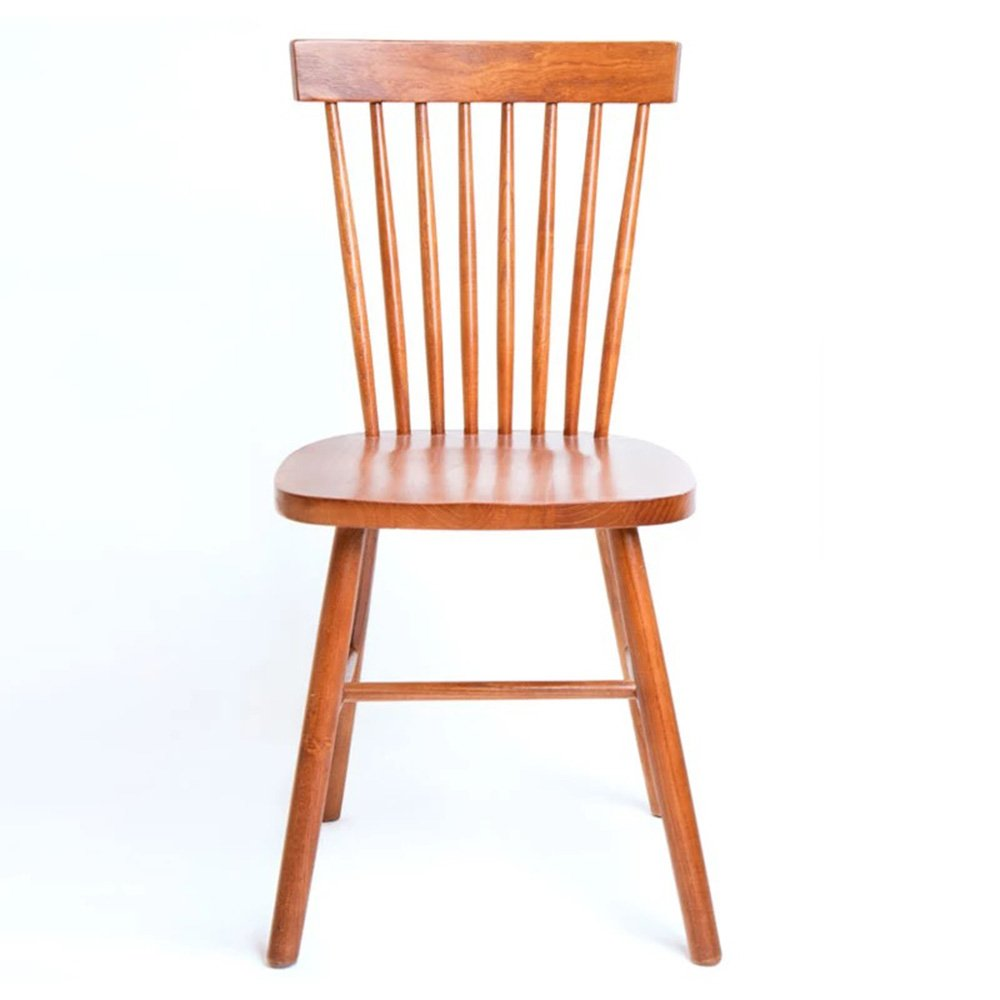 QFFL 椅子ソリッドウッドダイニングチェアホームバックレストレストランカジュアルカフェチェアデスク木製椅子9色オプション アウトドアスツール (色 : E) B07DZYK1R4 E E