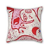 Loveloveu Throw Cushion Covers Of Oil Painting Paul Klee - A Woman For Gods,for Kids,sofa,adults,christmas,kids Room,car Seat 20 X 20 Inches / 50 By 50 Cm(two Sides)