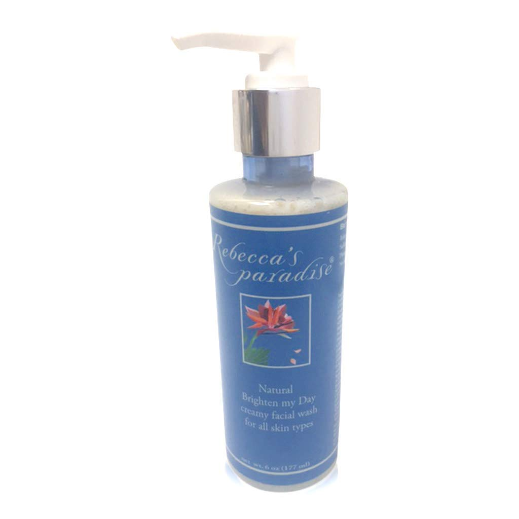 Brighten my Day creamy facial wash for all skin types by Rebecca's Paradise Natural Skin Care