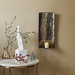 Whole Housewares Decorative Metal Wall Candle Scon