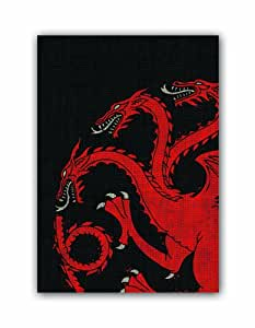 Game of Thrones HBO Art Sleeves: House Targaryen (Pack of 50 Sleeves)