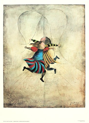Jumping Rope by Graciela Rodo Boulanger. Fine Art Print Poster (19.5