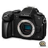 PANASONIC LUMIX GX85 4K Digital Camera, 12-60mm Power O.I.S. Lens, 16 Megapixel Mirrorless Camera, 5 Axis In-Body Dual Image Stabilization, 3-Inch Tilt and Touch LCD, DMC-GX85MK (Black)