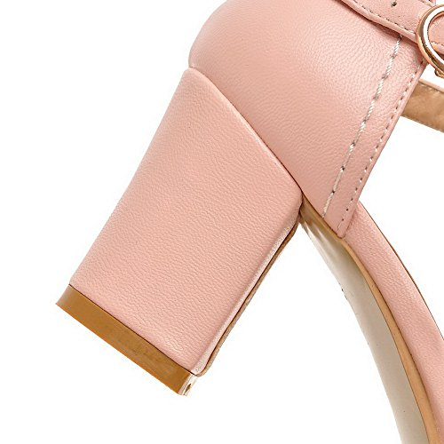 1TO9 Womens Empty Round-Toe Soft Material Pumps-Shoes Pink Jdnsb